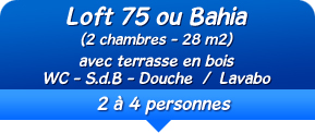 mobil-home location 2 à 4 personnes