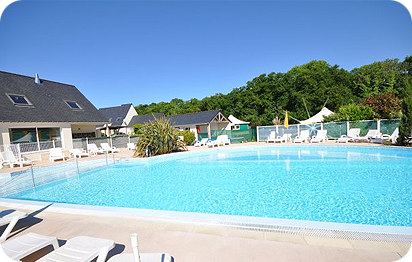 Camping 3 toiles piscine chauff e sarzeau morbihan 56 for Camping 3 etoiles gorges du verdon avec piscine