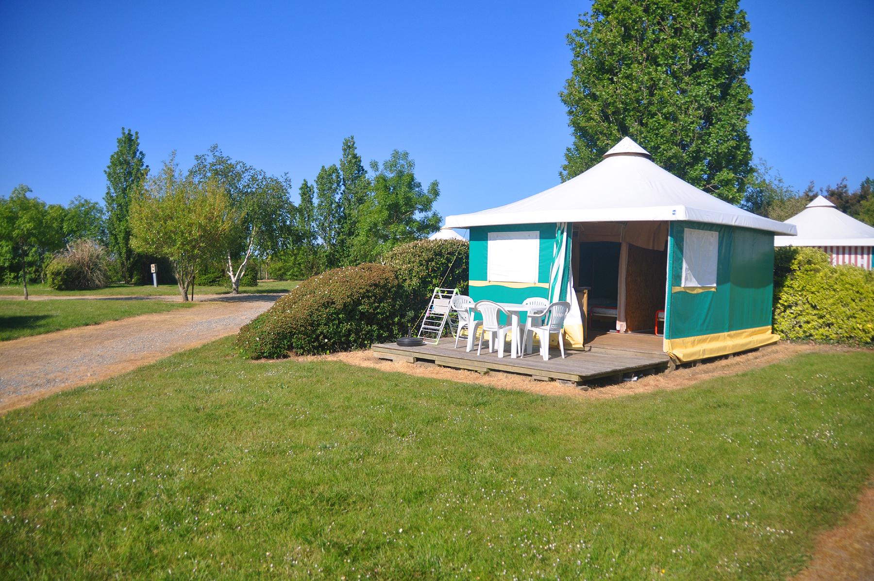 location camping bungalow toile sarzeau morbihan 56 With village vacances morbihan avec piscine 8 location camping bungalow toile sarzeau morbihan 56