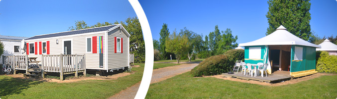 Location mobil-home bungalow Sarzeau Morbihan